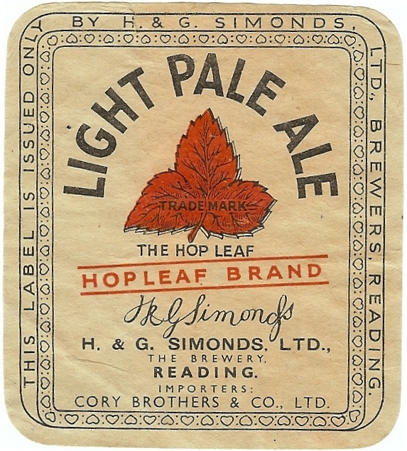 Light Pale Ale 3 Cory Bros