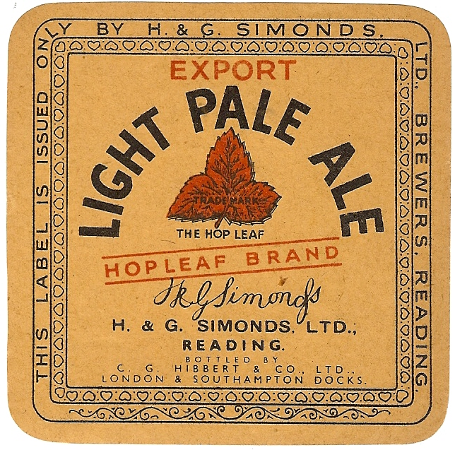 Light Pale Ale 4 Hibbert