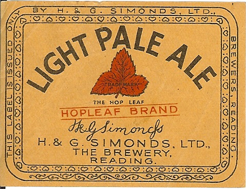 Light Pale Ale 6b wartime