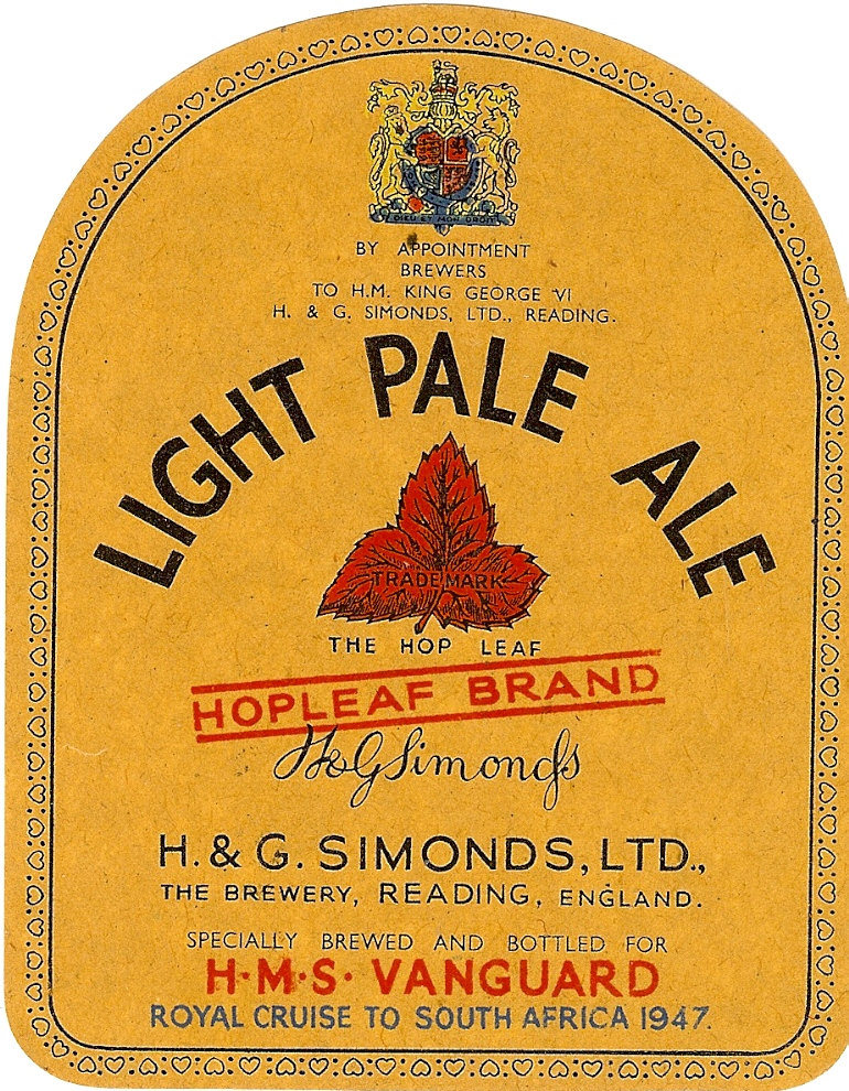 Light Pale Ale 8 Vanguard 1947