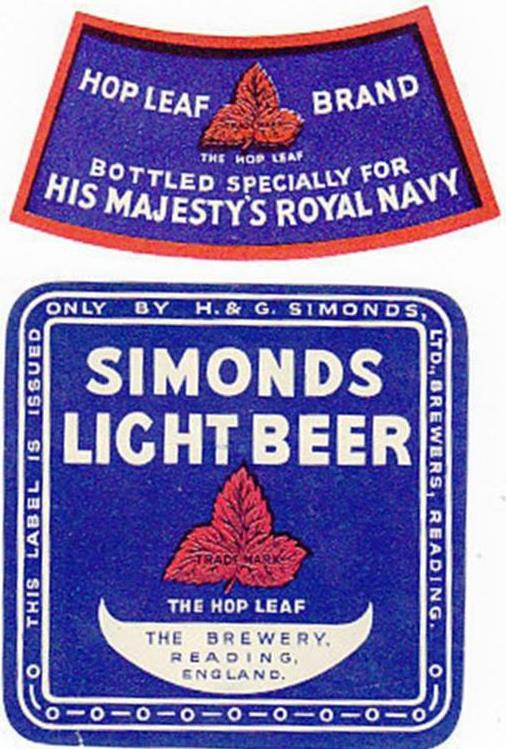 Light beer for the Royal Navy – Neck