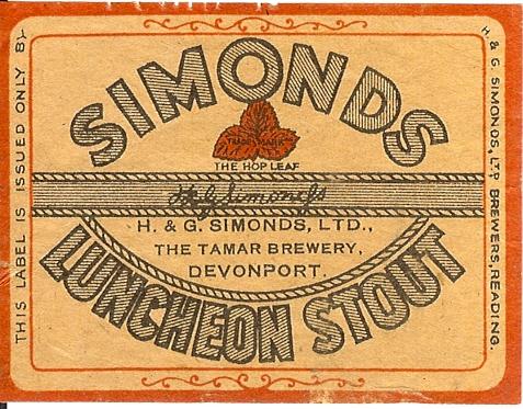 Luncheon Stout 5 Devonport wartime