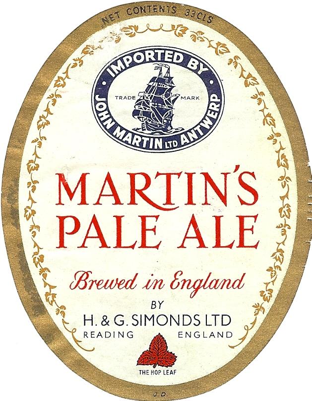 Martins Pale Ale 3 33CLS