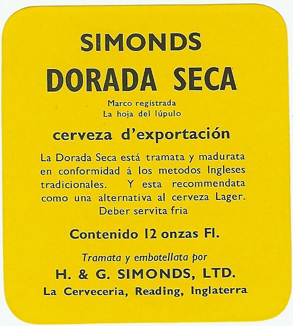 Mexico Dorada Seca 12oz