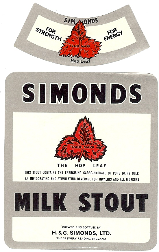 Milk Stout 11 for Jamaica with neck label