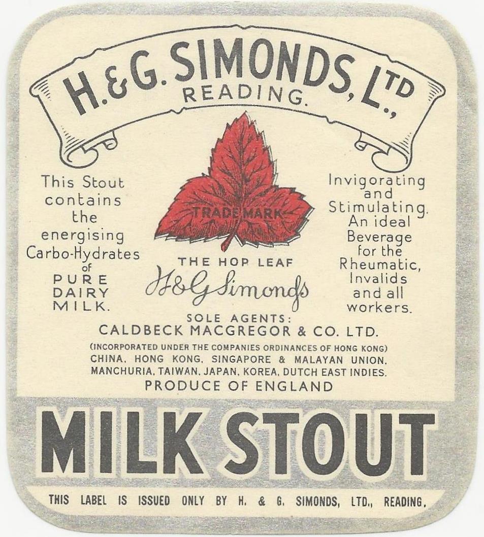 Milk Stout 13 Caldbeck MacGregor