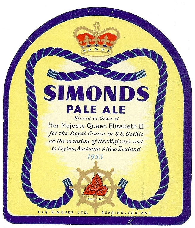 Pale Ale Coronation 1953