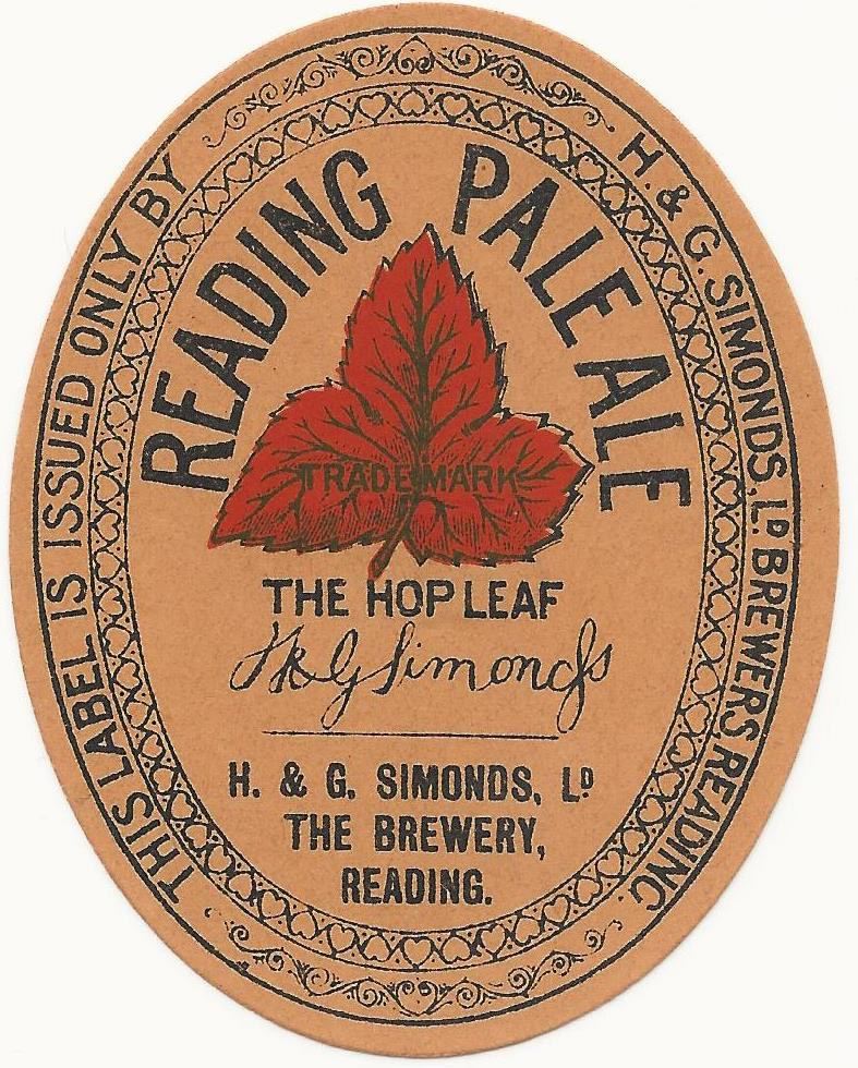 Reading Pale Ale 1 1930's Reading