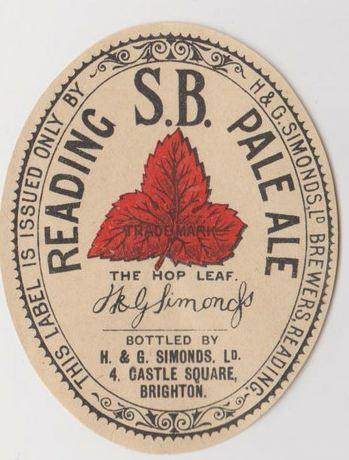Reading SB Pale Ale Brighton