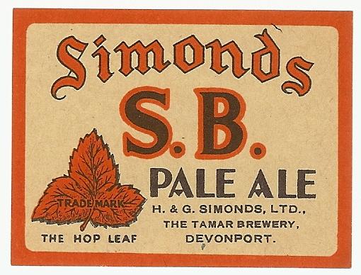 SB Pale Ale 6 Devonport wartime