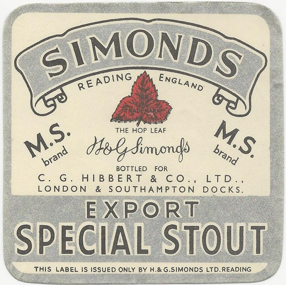 Special Stout 5 Hibbert & Co
