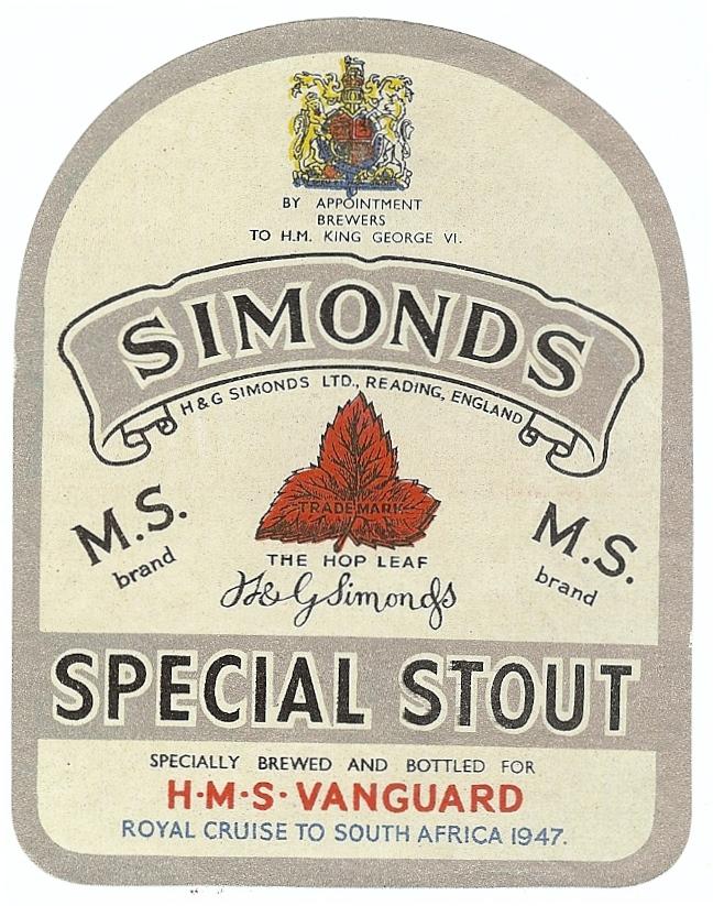 Special Stout 9 HMS Vanguard