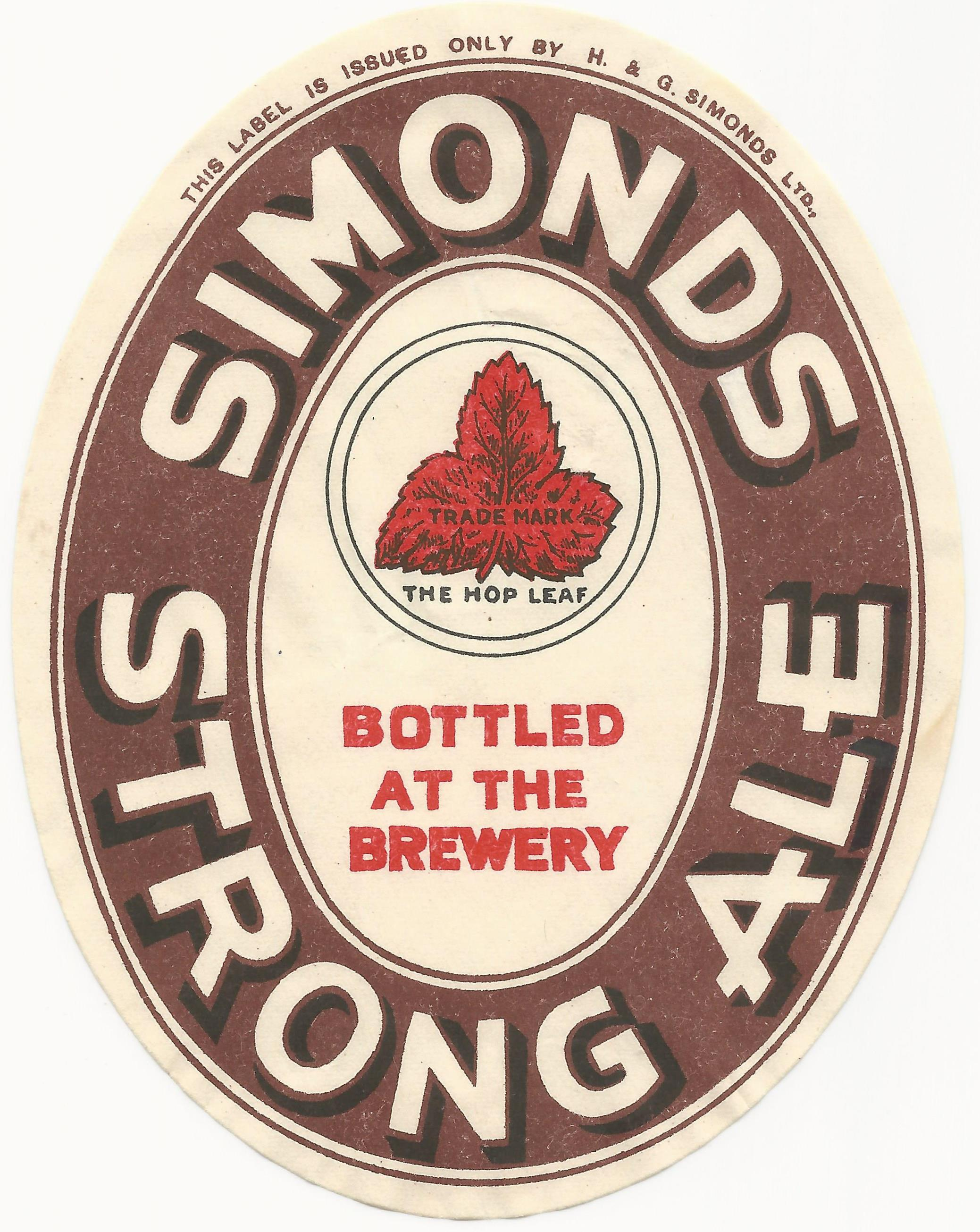 Strong Ale 01 1930's