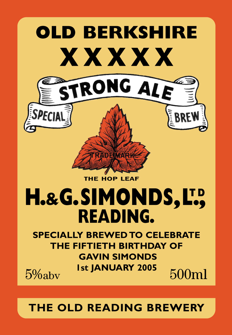 Strong Ale 11 GNS 010105