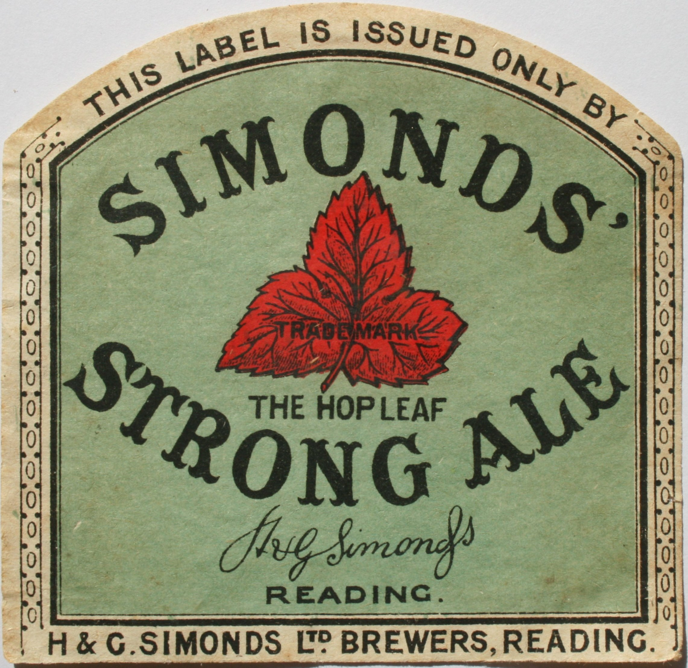 Strong Ale 1930's