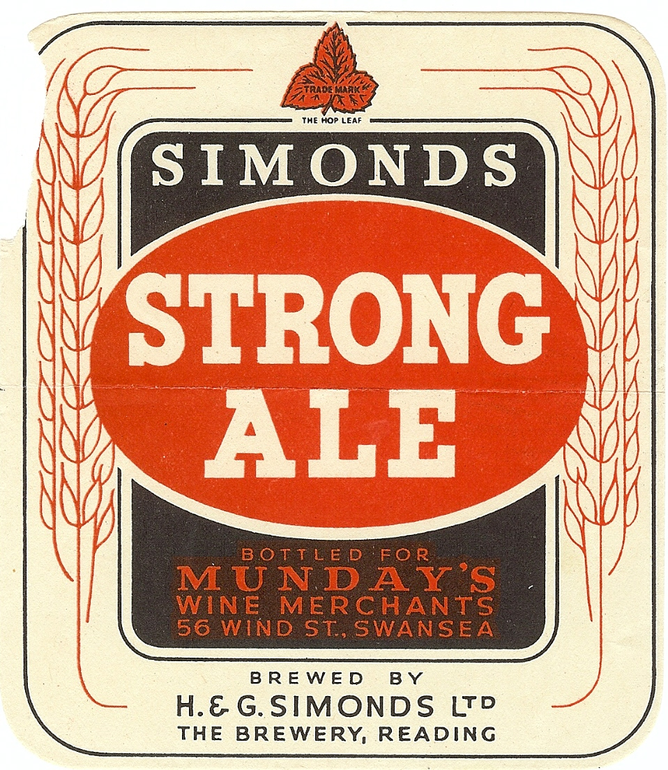 Strong Ale Mundays large torn