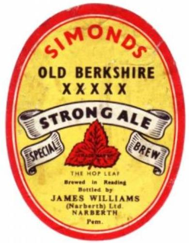 Strong Ale Williams oval