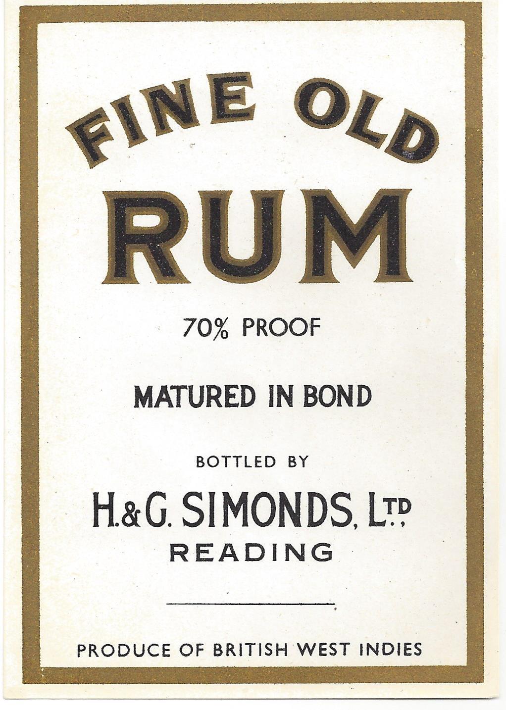 Rum – Fine Old