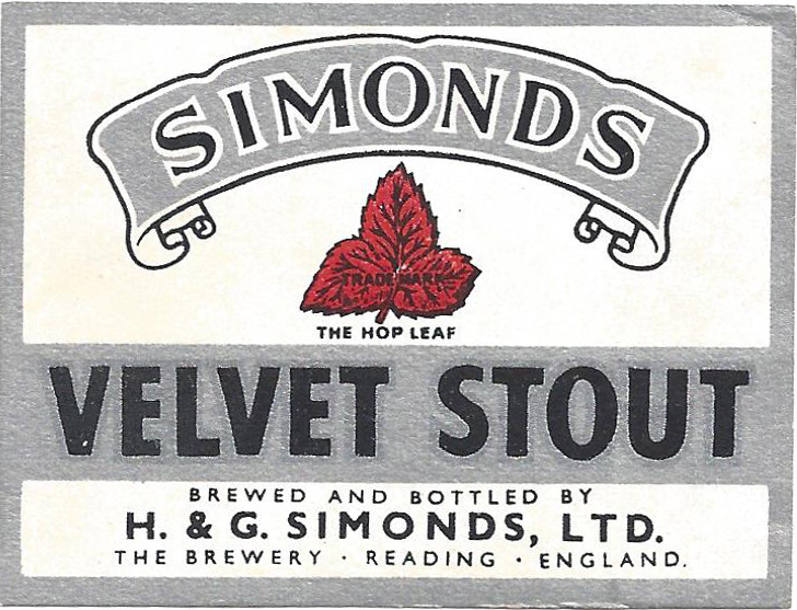 Velvet Stout – wartime
