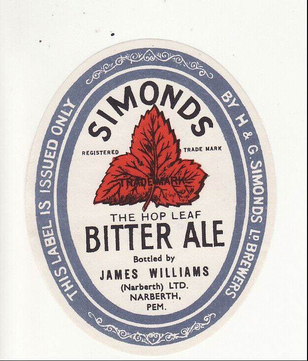 Bitter Ale, James Williams, Narbeth