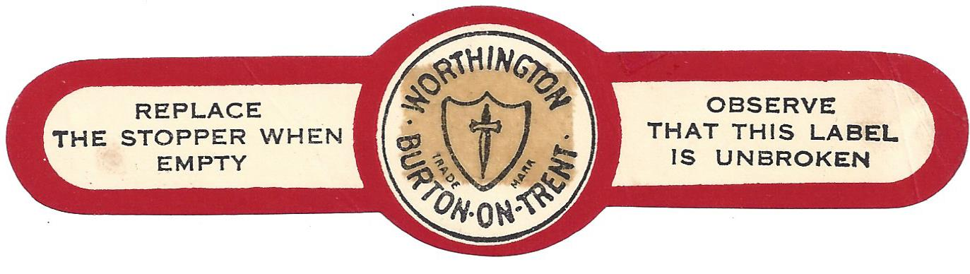 IPA Worthington  neck label
